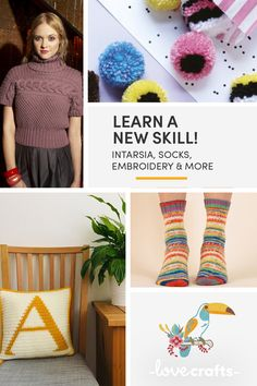 Learning is part of making, we all have to start somewhere! We have hundreds of tutorials and guides to get you started honing your craft or picking up an entirely new one! Learn How To Knit, How To Make, Different Stitches, The Inventors, Learn A New Skill, Something Beautiful, Hand Knitting, Crafting, Socks
