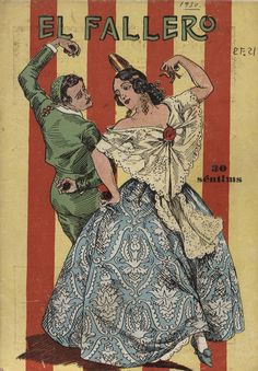 Cubierta de la revista El fallero,  nº 10, año 1930