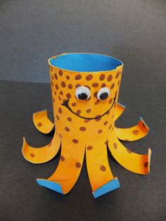 Octopus TP roll craft- cute!