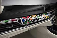 BMW Individual 7 Series by Esther Mahlangu - http://www.bmwblog.com/2016/09/05/bmw-individual-7-series-esther-mahlangu/