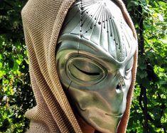 Alien Mask Masquerade Mask Burning Man Costume by BirdArtBulgaria