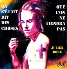 Julien Doré - Paris-Seychelles by dontchawannadream #quote #lyrics #music #art #watersoluble #waxpastels #gouache
