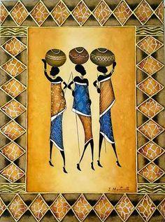 """Negras Senhoras"" por José Martinatti."