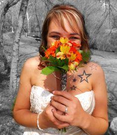 #photography #flowers #blackandwhite #color #wedding #bridals #startattoos #stormyshipleyphotography