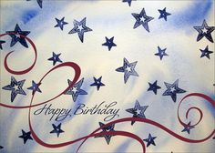 Star Spangled Birthday - Birthday Cards from CardsDirect