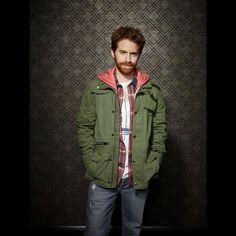 Seth Green as Eli. Buffy, Seth Green, Celebrity Crush, Windbreaker, Actors, My Favorite Things, Emerson, Lush, Crushes
