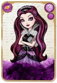 Raven Queen Ever After High...Usher in the next Monster High-esque craze!