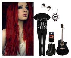 """""""Chill Mode"""" by black-veil-queen ❤ liked on Polyvore featuring mode en Paige Denim"""