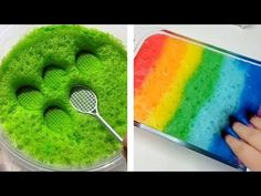 Satisfying & Relaxing Slime Videos #41 - YouTube Satisfying Video, Oddly Satisfying, Satisfying Things, Fraction Activities, Glitter Slime, Clear Slime, Asmr Video, Slime Asmr, Slime Videos