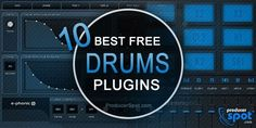 We have compiled for you a list with some of the best free drum plugins you can find on the Internet, available in VST, AU plugin for Windows and MAC OS.
