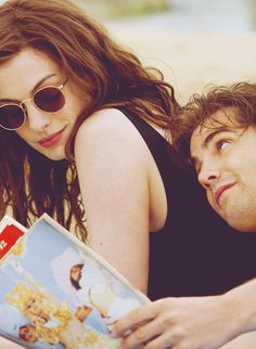 Anne Hathaway - Jim Sturgess - One Day - I love this movie, cuando vi esta película supe que mi hija se llamaría Emma