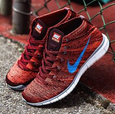 094486396fbe Nike Sportswear has just launched an autumn themed colorway of the Free  Flyknit Chukka