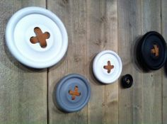 Buttonhooks in large, medium and small.