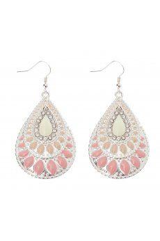 Enamel Teardrop Earrings from Colette Hayman R79,50