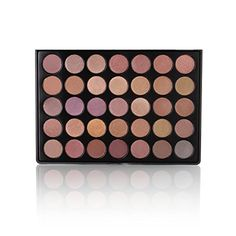 The Beauty Box Artist Eyeshadow Palette- 35 COLORS (Glow Shimmer Collection) ** Find out more about the great product at the image link.