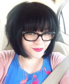 Blunt Chin Length Bob Haircuts 2015 with Bangs