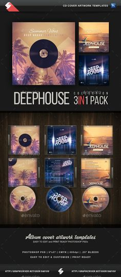 CD \/ DVD Artwork \/ DVD Case Design Template More best Cover - psd album cover template