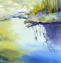 Maude Durland watercolor