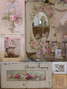 Link to Sharon's post on me going to Sweet Salvage for Romancing the Home event, pre Valentines Day!