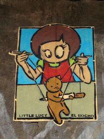 """Berlin Street Art II EL BOCHO """"Little Lucy"""""""
