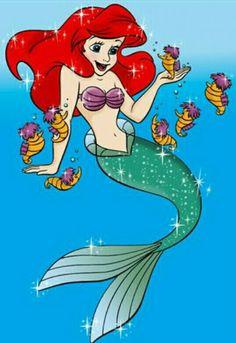 Ariel Mermaid, Ariel The Little Mermaid, Mermaid Art, Disney Movie Characters, Disney Movies, Fictional Characters, Ariel Pictures, Disney Pictures, Disney Art