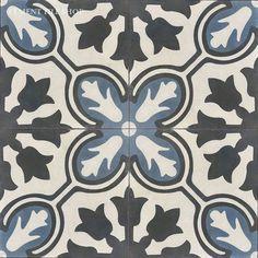 Cement Tile Shop - Encaustic Cement Tile Avallon Navy