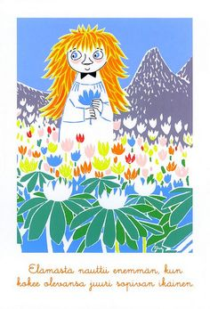 Thanks Sanni [Finland] The second MooMin I got from Finland. She bought this PC from MooMin World in Naartali, Finland. Moomin Valley, Tove Jansson, Postcard Printing, Children's Book Illustration, Painting & Drawing, Childrens Books, Images, Artsy, Drawings