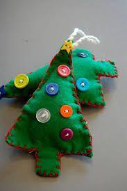 Homemade Ornaments (Cute, T. Kids Christmas Ornaments, Christmas Makes, Simple Christmas, Christmas Art, Christmas Projects, Christmas Holidays, Christmas Decorations, Homemade Ornaments, Homemade Christmas