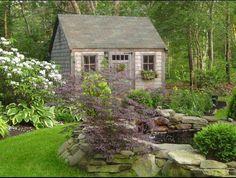 sweet garden shed...
