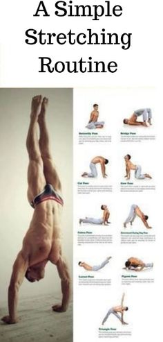 16 best full body stretching routine images  exercise