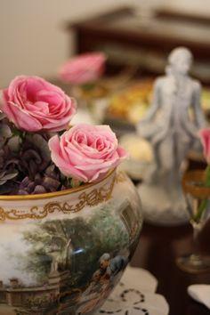 Stunning Antique Pink Rose Vase Via Renee Bartlett 39 A Rose 39 Rose By Any Other Name