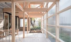 Greenhouse-like extension keeps this minimalist timber home warm in winter | Inhabitat - Green Design, Innovation, Architecture, Green Building