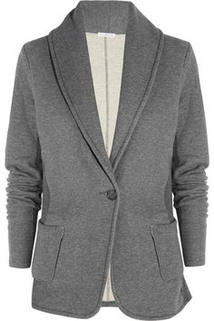 Image result for James Perse 'Cotton-Jersey Blazer'