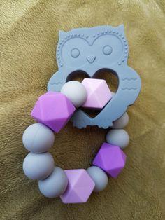 Very cute owl teether $18