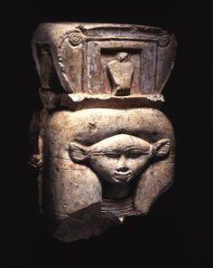 Capital / Eighteenth Dynasty / Deir El-Bahari / Egypt / Penn Museum.
