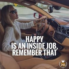 Happy is and will always be an inside job. DOUBLE tap if you agree &a TAG Friends! #risebeyond #Happiness #job #happy