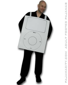 Homemade Apple iPod Costume for Adults