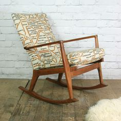 Vintage restored Parker Knoll rocking chair - Made to order