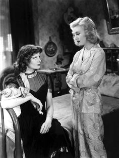 *-f* Katharine Hepburn and Ginger Rogers  Stage Door 1937 Directed by Gregory LaCava