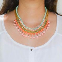 Collar Etnik Rosado   Compra tus accesorios en www.dulceencanto.com #accesorios…