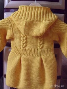 Discover thousands of images about 61 Trendy Craft Baby Parents Kids Knitting Patterns, Baby Cardigan Knitting Pattern, Knitting For Kids, Knitting Designs, Baby Boy Vest, Baby Coat, Knit Baby Sweaters, Girls Sweaters, Diy Crafts Knitting