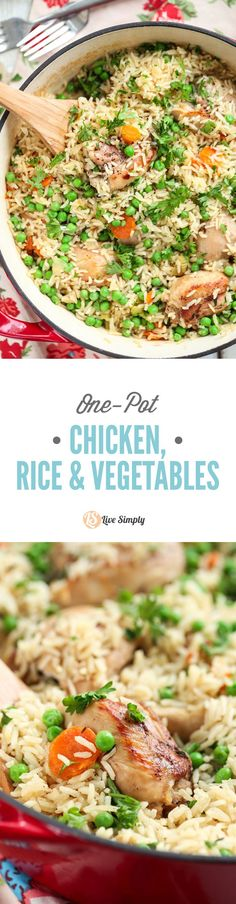 Healthy, inexpensive, family-friendly, and one-pot!! This one-pot real food meal is a family favorite. No cans or processed ingredients.