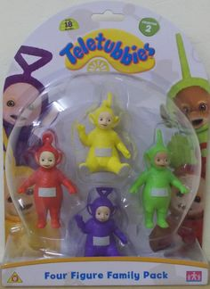 Teletubbies ~ Four Figure Family 4 Pack ~ Collection Pack 2 in Toys & Games, TV & Film Character Toys, TV Characters | eBay