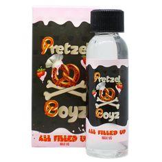 New product release: Pretzel Boyz E-Li....  Available at: http://www.ejuices.com/products/pretzel-boyz-e-liquid-all-filled-up?utm_campaign=social_autopilot&utm_source=pin&utm_medium=pin.