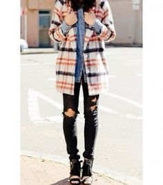 Outfit Envy: The Best Ways To Wear Plaid Now via @WhoWhatWear