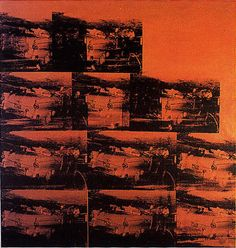 'Fünf Deaths elfmal In Orange' von Andy Warhol (1928-1987, United States)