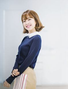 love her cute & classy style 💜 Asian Actors, Korean Actresses, Korean Actors, Actors & Actresses, Korean Dramas, Park Bo Young, Strong Girls, Strong Women, Park Hyung Sik