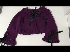Crochet Clothes, Rain Jacket, Windbreaker, Cross Stitch, Ruffle Blouse, Sewing, Baby, Jackets, Youtube