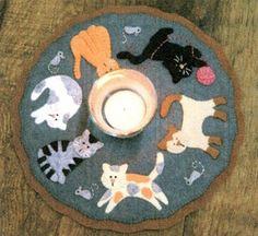 Cats Meow Candle Mat Kit