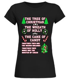 Funny The Tree Of Christmas The Wreath Of Holly T-shirt back to school t-shirt,back to school movie t shirt,